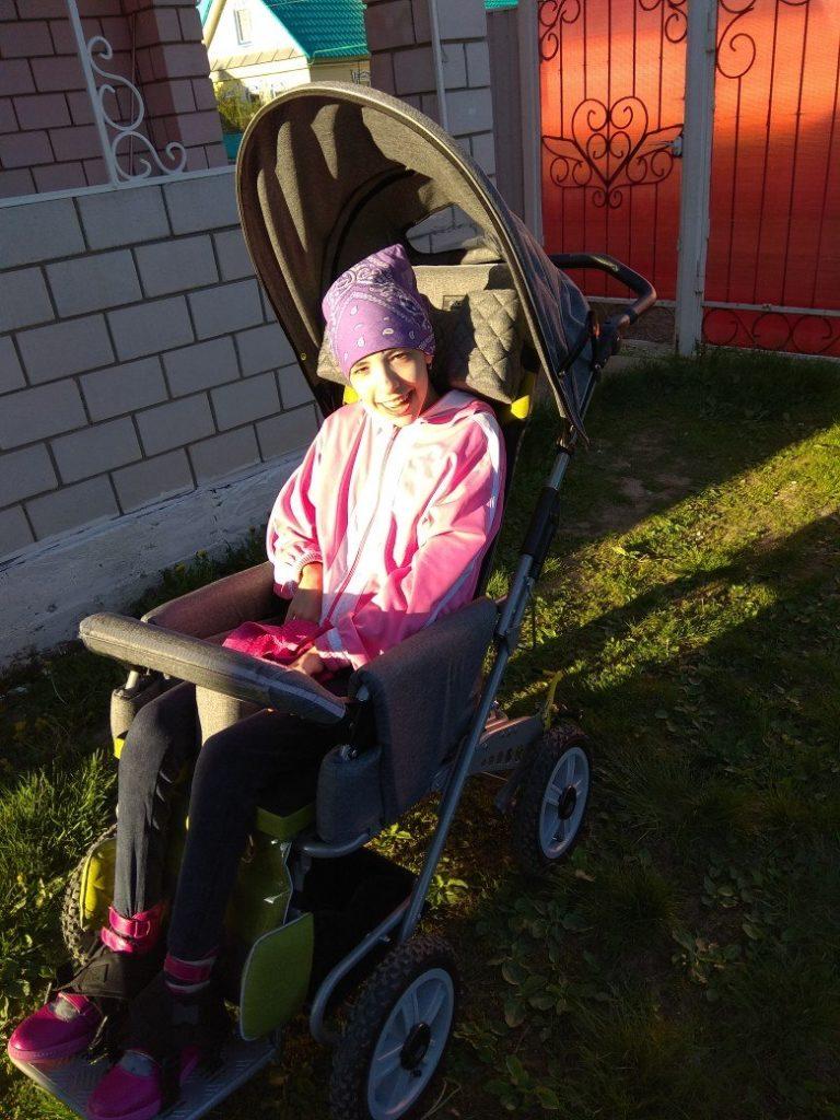 Азалия с коляской 1
