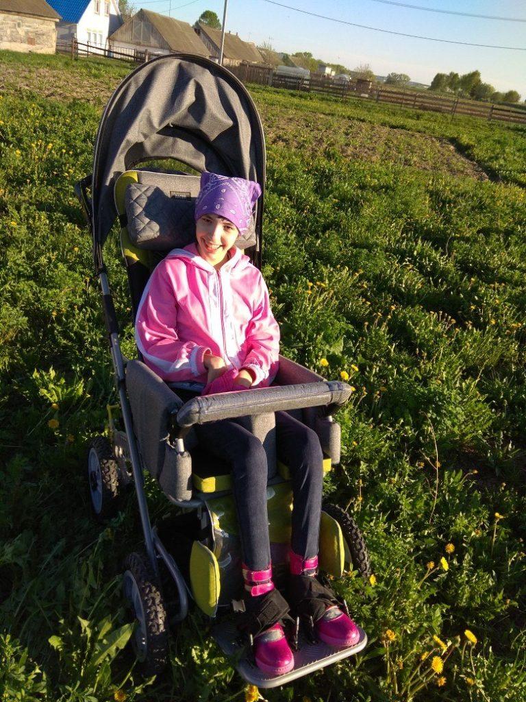 Азалия с коляской