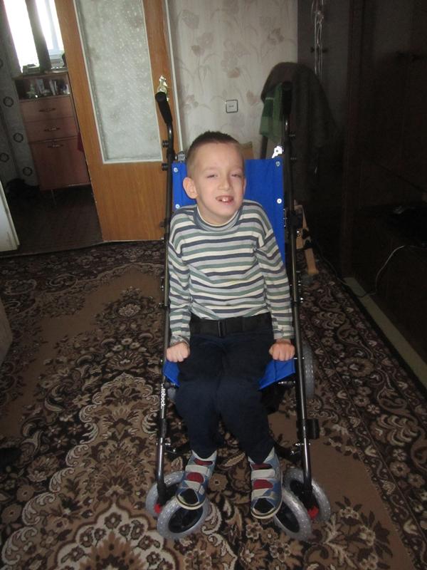 Закиров Артур фото на коляске