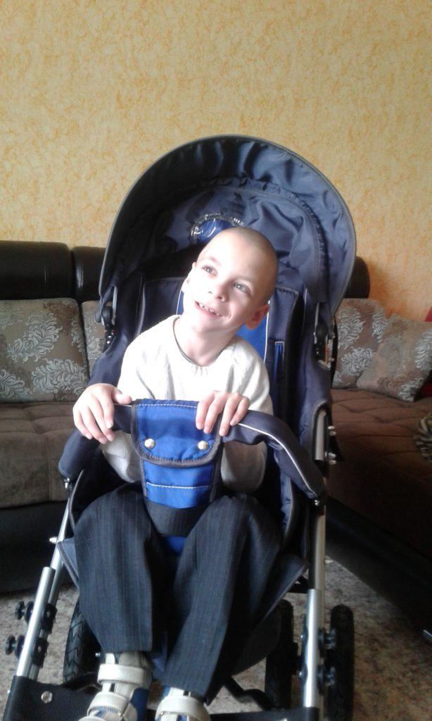Комаров Александр фото на коляске