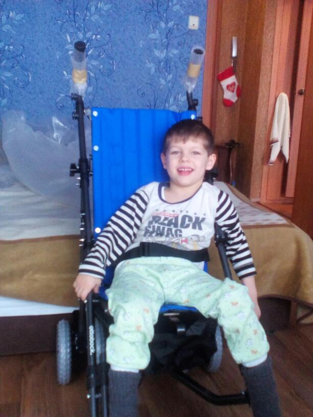 Мацегора Николай фото на коляске